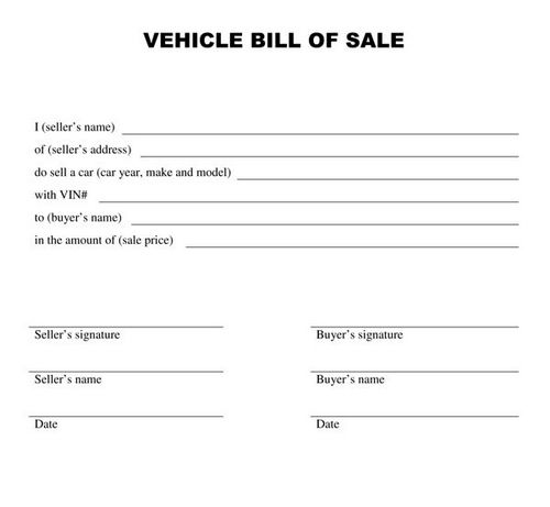 Vehicle Auctions Near Me >> bill of sale ontario car template – Used car listings